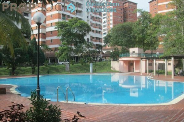 Condominium For Sale in Evergreen Park, Bandar Sungai Long Freehold Semi Furnished 5R/3B 780k