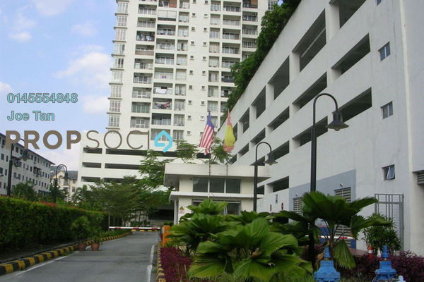 Condominium For Sale in Ampang Putra Residency, Ampang Freehold Fully Furnished 3R/2B 565k