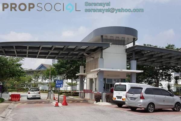Terrace For Sale in Kota Kemuning Hills, Kota Kemuning Freehold Semi Furnished 4R/3B 1.5m