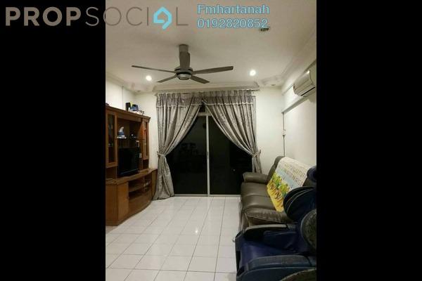 Apartment For Sale in Tasik Heights Apartment, Bandar Tasik Selatan Freehold Unfurnished 3R/2B 320k