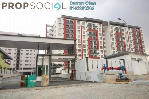 Apartment For Rent in Green Suria Apartment, Bandar Tun Hussein Onn Freehold Unfurnished 3R/2B 1k