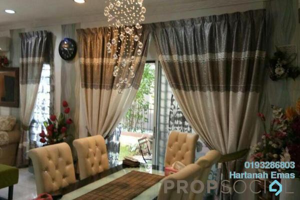 Semi-Detached For Sale in Taman Aman Perdana, Meru Freehold Semi Furnished 4R/3B 750k