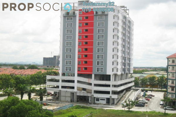 Apartment For Rent in Calisa Residences, Puchong Leasehold Unfurnished 3R/2B 1k
