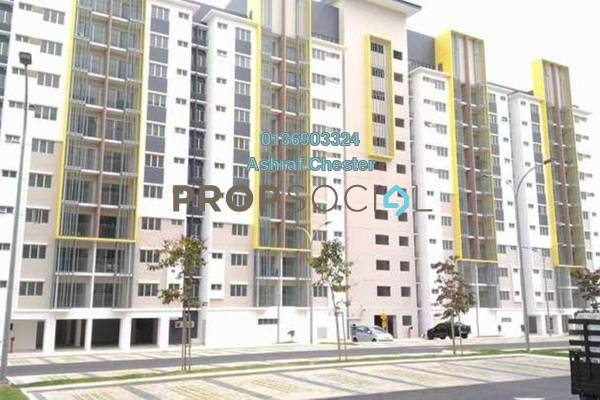 Apartment For Rent in Seri Pinang Apartment, Setia Alam Freehold Unfurnished 3R/2B 850translationmissing:en.pricing.unit