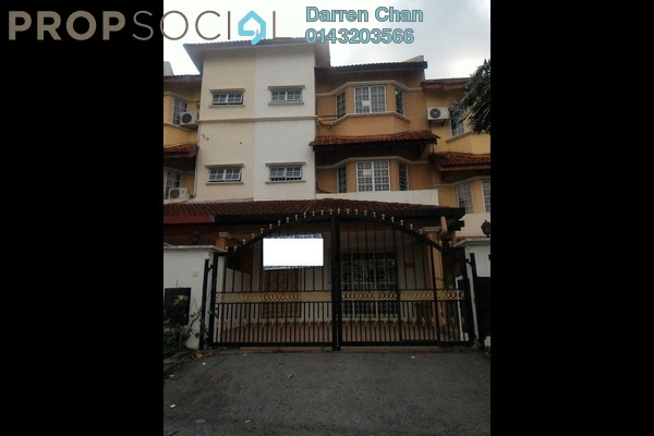 Terrace For Sale in Taman Minang Ria, Cheras South Freehold Semi Furnished 5R/4B 600k
