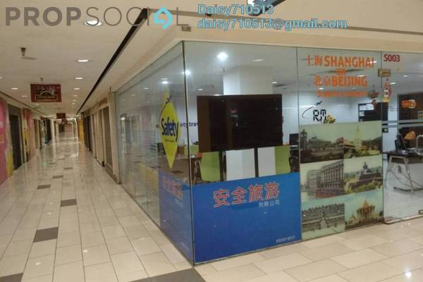 Shop For Rent in Sungei Wang Plaza, Bukit Bintang Freehold Fully Furnished 0R/0B 3.5k