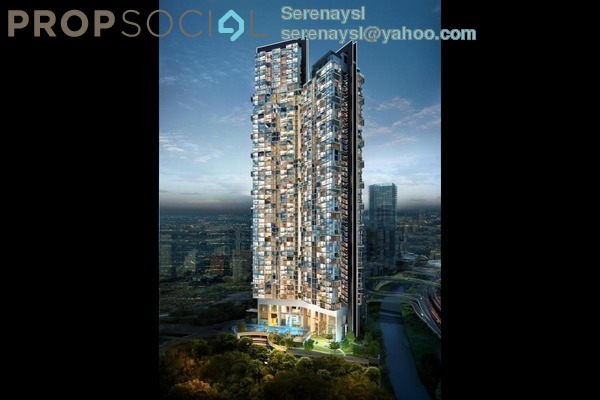Condominium For Sale in Vogue Suites One @ KL Eco City, Mid Valley City Freehold Fully Furnished 2R/1B 1.2m