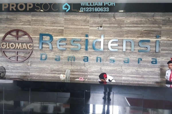 Serviced Residence For Sale in Glomac Damansara, TTDI Freehold Fully Furnished 3R/4B 1.58m