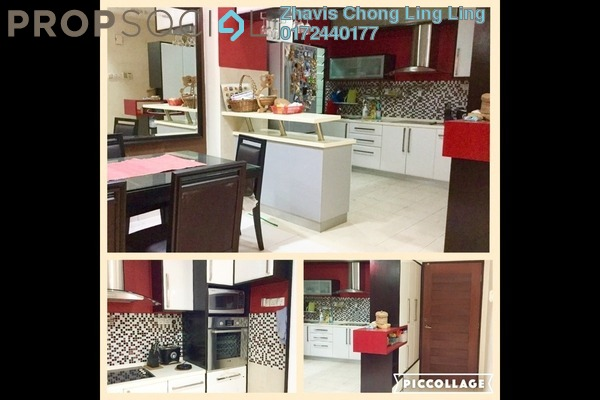 Condominium For Rent in Hartamas Regency 1, Dutamas Freehold Fully Furnished 0R/0B 3.5k