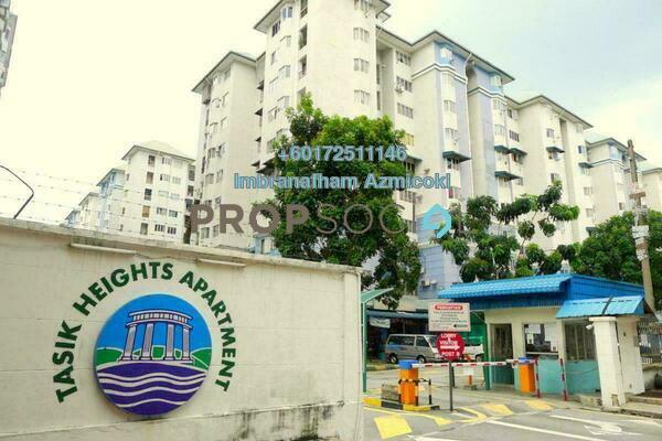 Apartment For Sale in Tasik Heights Apartment, Bandar Tasik Selatan Leasehold Unfurnished 3R/2B 300k