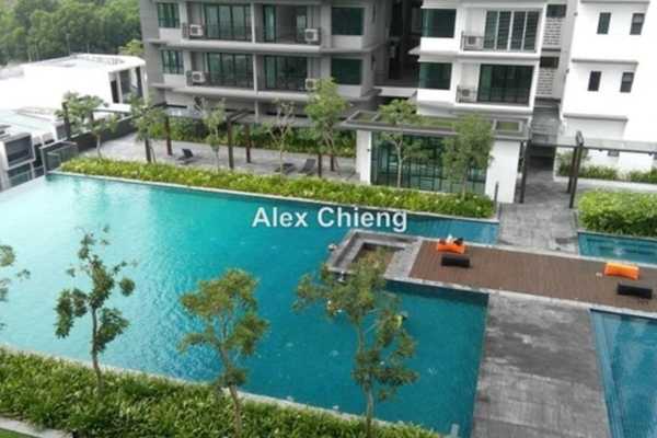 Condominium For Rent in Epic Residence, Bandar Bukit Puchong Freehold Semi Furnished 3R/2B 1.4k