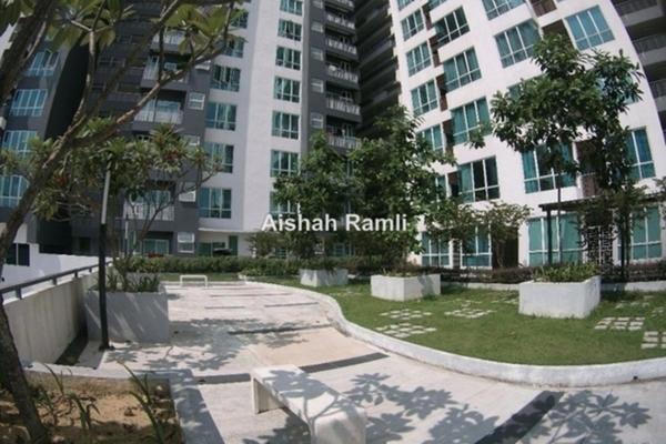 Condominium For Sale in The Loft @ ZetaPark, Setapak Freehold Semi Furnished 3R/2B 690k