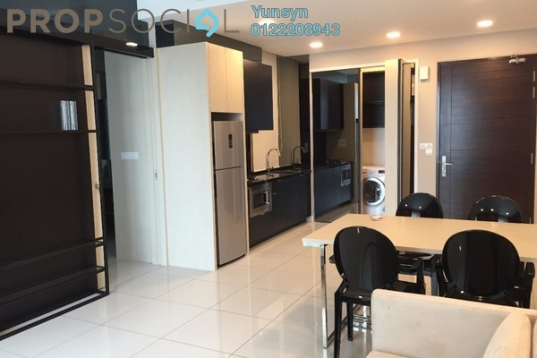 Serviced Residence For Sale in Uptown Residences, Damansara Utama Freehold Fully Furnished 1R/1B 880k