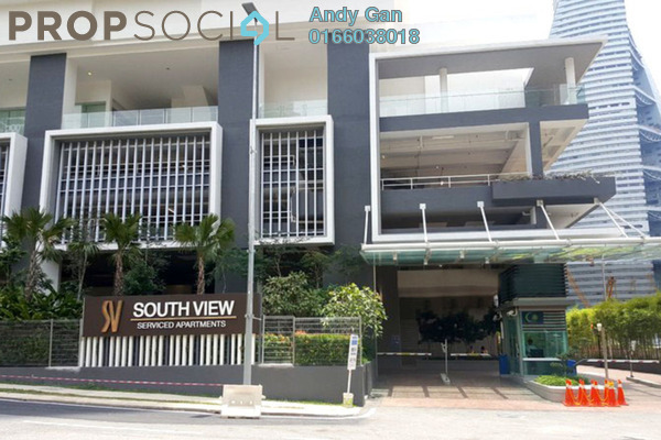 Serviced Residence For Rent in South View, Bangsar South Freehold fully_furnished 2R/2B 2.5k
