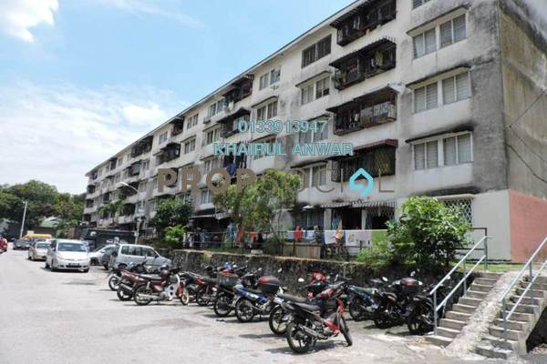 Apartment For Sale in Pandan Indah, Pandan Indah Freehold Unfurnished 3R/1B 150k