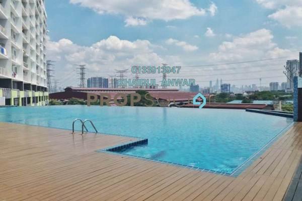 Condominium For Sale in Panorama Residences, Sentul Freehold Semi Furnished 3R/2B 510k