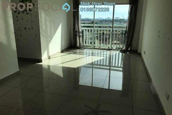 Apartment For Rent in Hijauan Puteri, Bandar Puteri Puchong Freehold Semi Furnished 3R/2B 1.4k