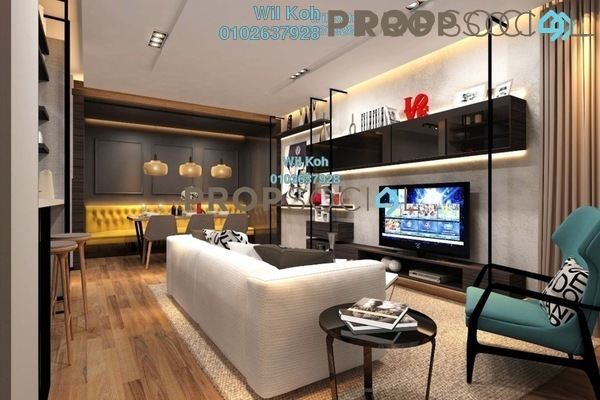 For Sale Condominium at Lake Point Residence, Cyberjaya Freehold Unfurnished 3R/2B 499k