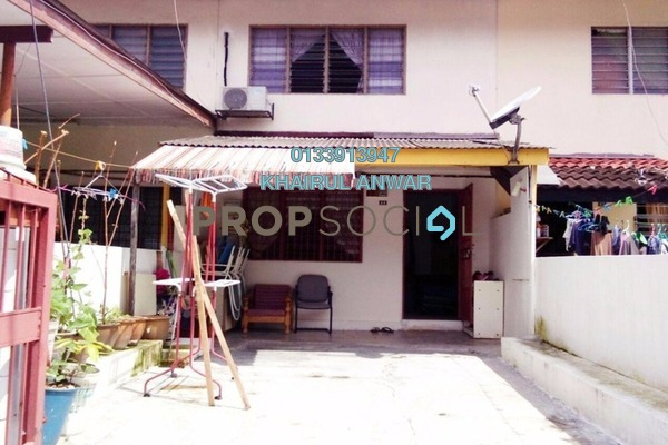 Terrace For Sale in Taman Alam Jaya, Batu 9 Cheras Freehold Semi Furnished 2R/1B 290k