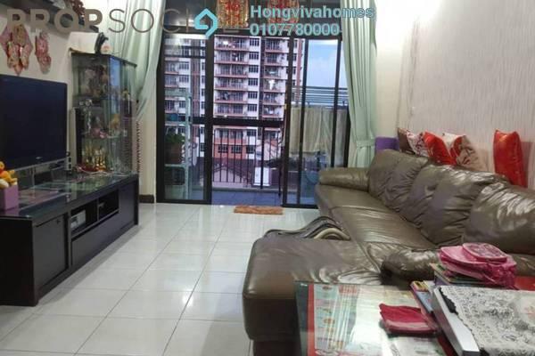 For Sale Serviced Residence at Diamond Residences, Setapak Freehold Semi Furnished 4R/3B 625k