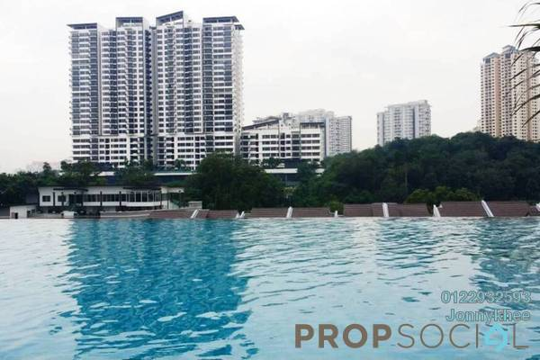 Condominium For Sale in Scenaria, Segambut Freehold Semi Furnished 3R/2B 650k