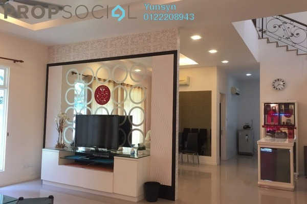Semi-Detached For Sale in Villa Kristal Heights, Batu Caves Leasehold Fully Furnished 5R/5B 2.38m
