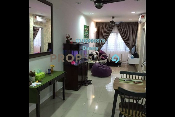Condominium For Rent in Hedgeford 10 Residences, Wangsa Maju Freehold Fully Furnished 1R/1B 1.7k