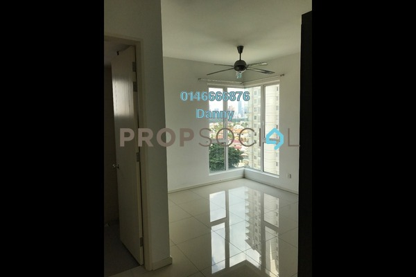 Condominium For Rent in 222 Residency, Setapak Freehold Unfurnished 3R/2B 1.7k