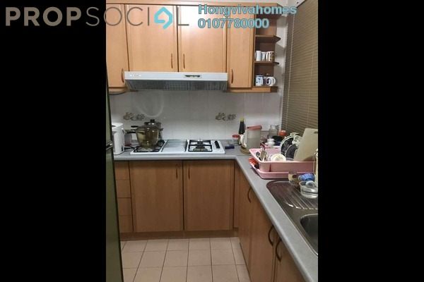Condominium For Sale in Sri Pelangi, Setapak Freehold Semi Furnished 2R/1B 390k