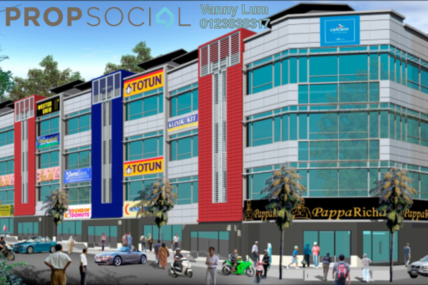 Shop For Sale in Paraiso @ The Earth Bukit Jalil, Bukit Jalil Freehold Unfurnished 0R/0B 4m