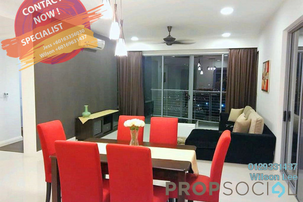 Condominium For Sale in The Westside Two, Desa ParkCity Freehold Fully Furnished 3R/3B 1.45m