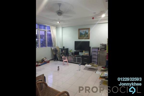 Duplex For Sale in Amandari, Segambut Freehold Semi Furnished 4R/2B 570k