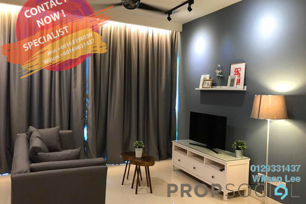 Condominium For Rent in One Central Park, Desa ParkCity Freehold Fully Furnished 2R/1B 4.2k