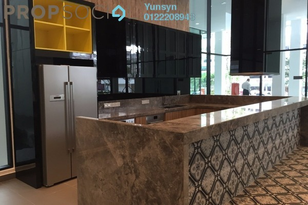Serviced Residence For Sale in Uptown Residences, Damansara Utama Freehold Fully Furnished 3R/3B 2.5m