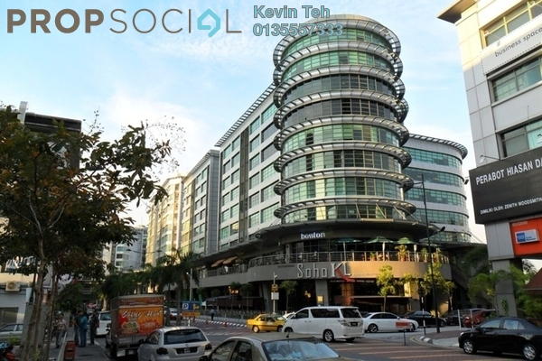 Office For Sale in Solaris Mont Kiara, Mont Kiara Freehold Semi Furnished 0R/0B 3.99m