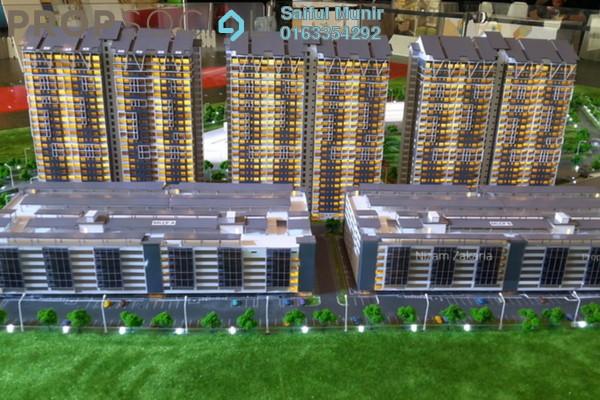 Condominium For Sale in Aspire Residence, Cyberjaya Freehold Semi Furnished 3R/2B 395k