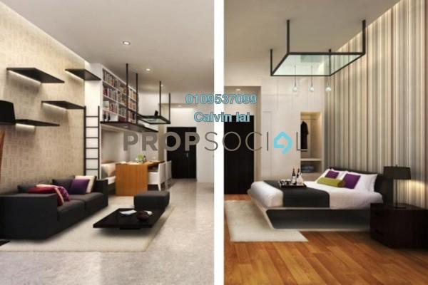 SoHo/Studio For Sale in Taman Sri Raya, Batu 9 Cheras Freehold Fully Furnished 1R/1B 288k