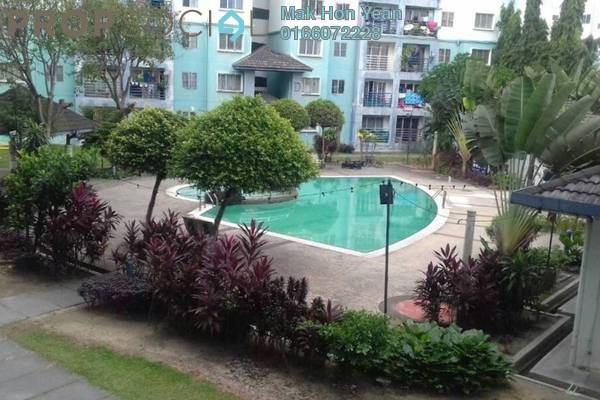 Apartment For Sale in Akasia Apartment, Pusat Bandar Puchong Freehold Semi Furnished 3R/2B 329k