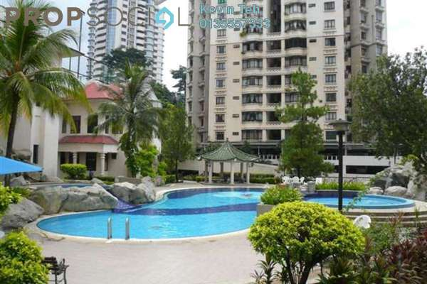 For Sale Condominium at Bukit Robson Condominium, Seputeh Freehold Semi Furnished 3R/3B 1.2m