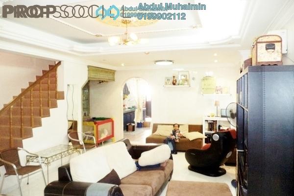 Terrace For Sale in Taman Melawati, Kuala Lumpur Freehold Semi Furnished 4R/2B 720k