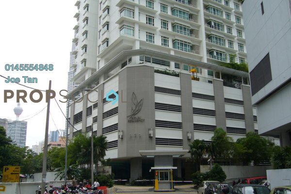 Condominium For Rent in Binjai Residency, KLCC Freehold Semi Furnished 3R/2B 7k