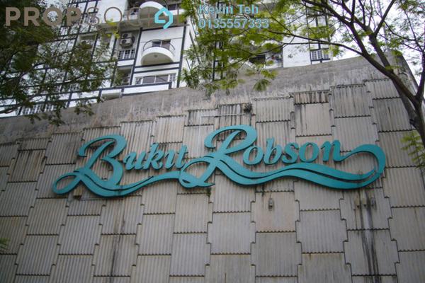 Condominium For Rent in Bukit Robson Condominium, Seputeh Freehold Semi Furnished 1R/1B 2.1k