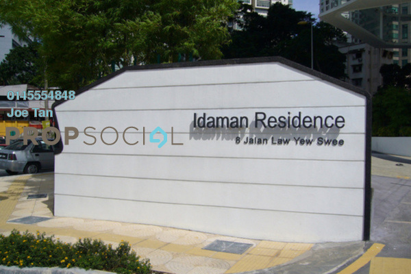 Condominium For Rent in Idaman Residence, KLCC Freehold Fully Furnished 3R/5B 5.5k