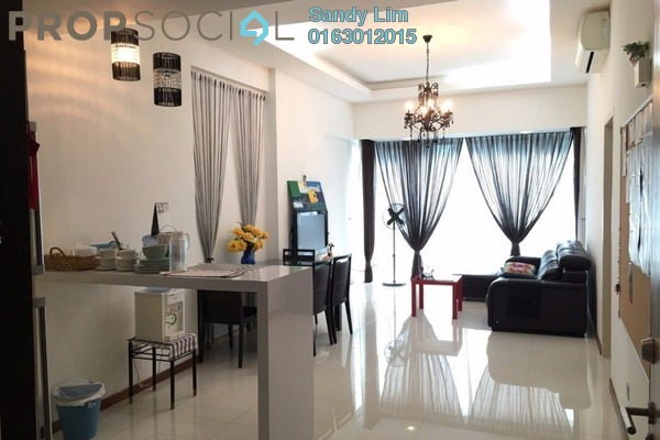 Condominium For Rent in Suasana Sentral Loft, KL Sentral Freehold Fully Furnished 1R/1B 4k