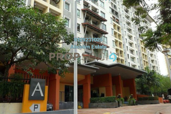 Serviced Residence For Sale in Ritze Perdana 1, Damansara Perdana Freehold Semi Furnished 0R/1B 255k
