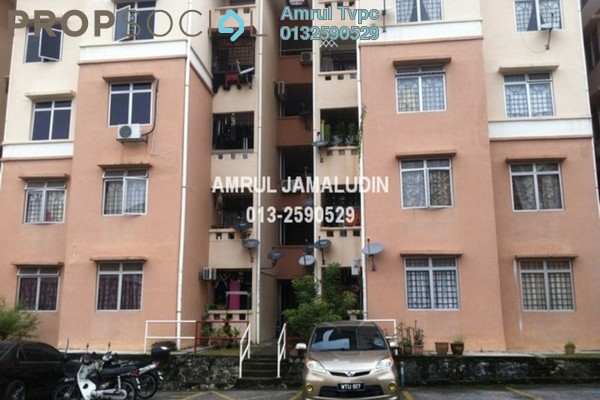 Apartment For Rent in Sri Puteri Apartment, Ukay Freehold Semi Furnished 3R/2B 1.2k