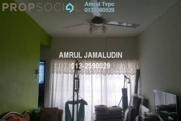 Apartment For Rent in Sri Melor Apartment, Ukay Freehold Semi Furnished 3R/2B 1.2k