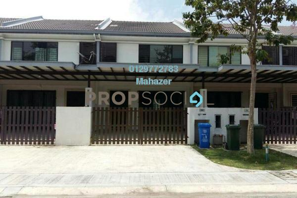Terrace For Sale in Ken Rimba, Shah Alam Freehold Semi Furnished 4R/4B 630k