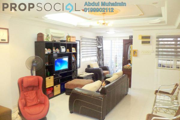 Terrace For Sale in Taman Melawati, Kuala Lumpur Freehold Semi Furnished 4R/2B 660k