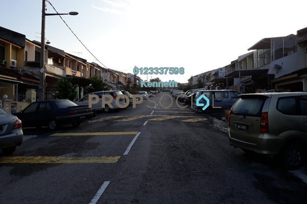 Terrace For Sale in Taman Delima, Cheras Freehold Semi Furnished 3R/2B 460k